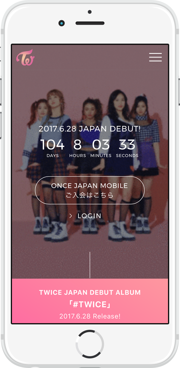 TWICE OFFICIAL FANCLUB ONCE JAPAN MOBILE
